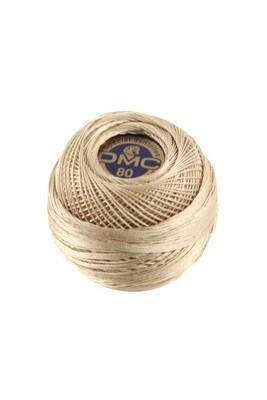 DMC Dentelles #80 Cotton Ball 0842 - Very Light Beige Brown