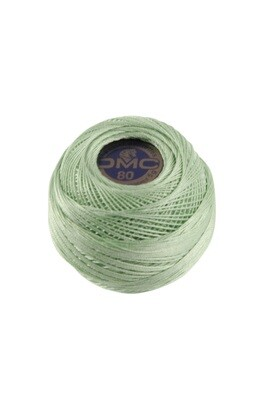 DMC Dentelles #80 Cotton Ball 0955 - Light Nile Green