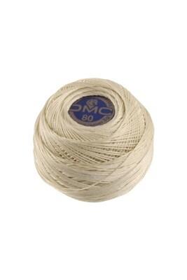 DMC Dentelles #80 Cotton Ball Ecru