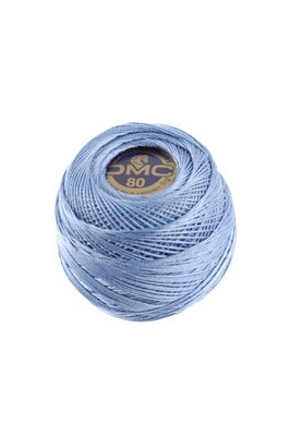 DMC Dentelles #80 Cotton Ball 0799 - Medium Delft Blue
