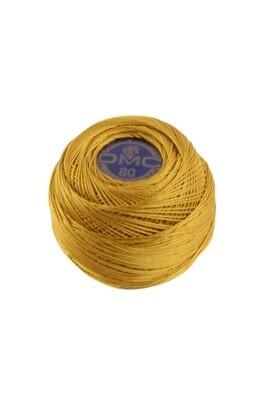 DMC Dentelles #80 Cotton Ball 0783 - Medium Topaz