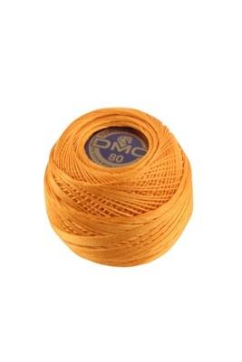 DMC Dentelles #80 Cotton Ball 0740 - Tangerine