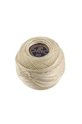 DMC Dentelles #80 Cotton Ball 0712 - Cream