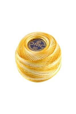 DMC Dentelles #80 Cotton Ball 0090 - Yellow