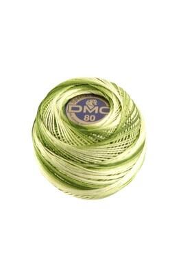 DMC Dentelles #80 Cotton Ball 0092 - Avocado