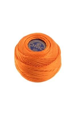 DMC Dentelles #80 Cotton Ball 0947 - Burnt Orange