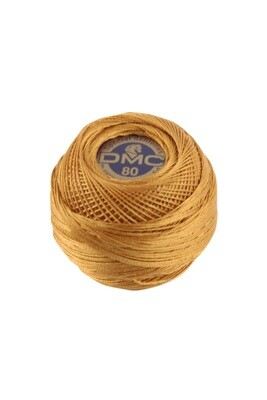 DMC Dentelles #80 Cotton Ball 0976 - Medium Golden Brown