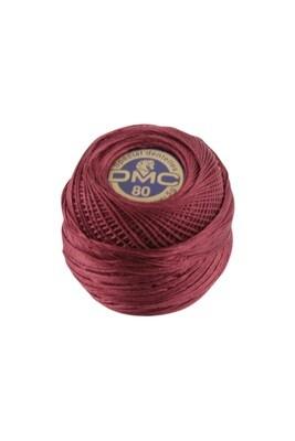 DMC Dentelles #80 Cotton Ball 0815 - Medium Garnet