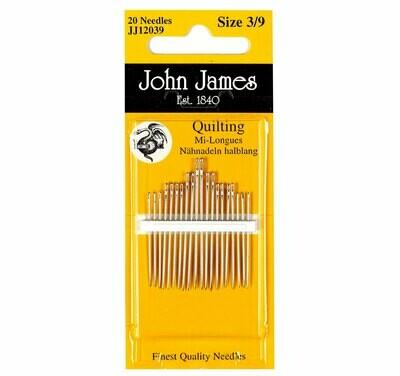 John James Quilting #05/10 pkt