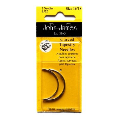 John James Curved Tapestry #16/18 pkt