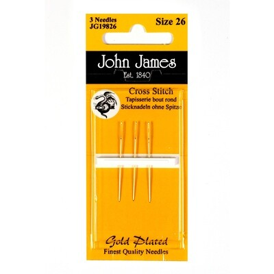 John James Tapestry Gold #28 pkt
