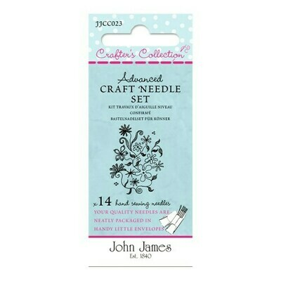 John James Craft Needle Set - Advanced