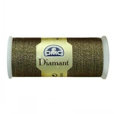 DMC380 Diamant Metallic Thread D0140 - Olive