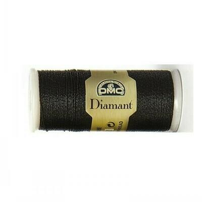 DMC380 Diamant Metallic Thread D0310 - Ebony