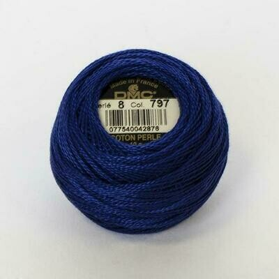 DMC116 Perle 05 Ball 0797 - Royal Blue