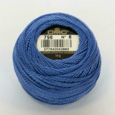 DMC116 Perle 05 Ball 0798 - Dark Delft Blue