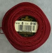 DMC116 Perle 05 Ball 0815 - Medium Garnet