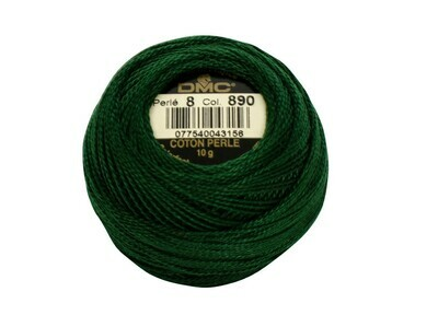 DMC116 Perle 05 Ball 0890 - Ultra Dark Pistachio Green