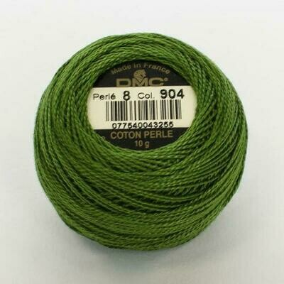 DMC116 Perle 05 Ball 0904 - Very Dark Parrot Green