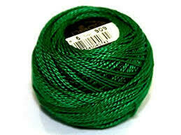 DMC116 Perle 05 Ball 0909 - Very Dark Emerald Green