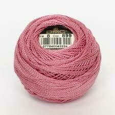 DMC116 Perle 05 Ball 0899 - Medium Rose