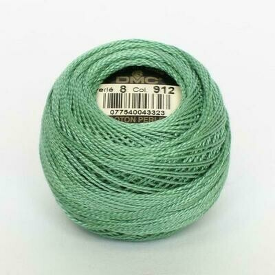 DMC116 Perle 08 Ball 0912 - Light Emerald Green
