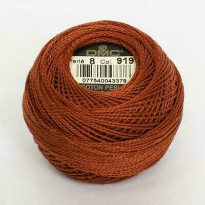 DMC116 Perle 08 Ball 0919 - Red Copper