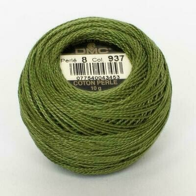 DMC116 Perle 05 Ball 0937 - Medium Avocado Green