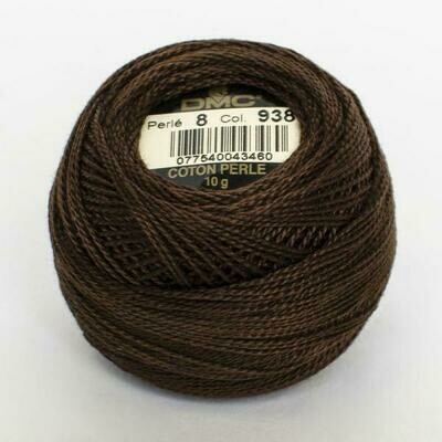 DMC116 Perle 05 Ball 0938 - Ultra Dark Coffee Brown