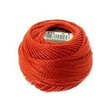 DMC116 Perle 08 Ball 0946 - Medium Burnt Orange