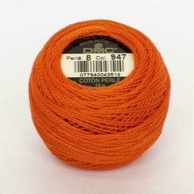 DMC116 Perle 05 Ball 0947 - Burnt Orange