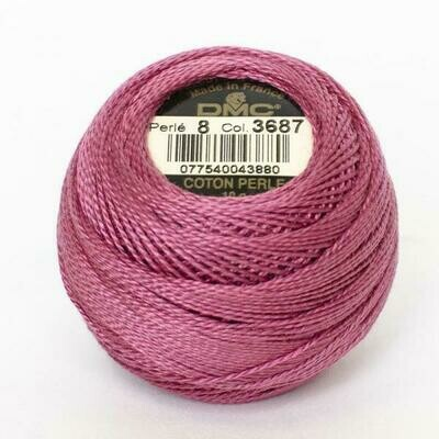 DMC116 Perle 05 Ball 3687 - Mauve