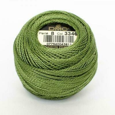 DMC116 Perle 08 Ball 3346 - Hunter Green