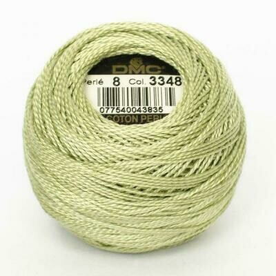 DMC116 Perle 05 Ball 3348 - Light Yellow Green