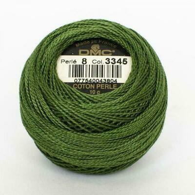 DMC116 Perle 08 Ball 3345 - Dark Hunter Green