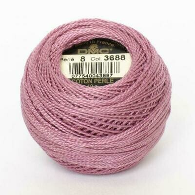 DMC116 Perle 05 Ball 3688 - Medium Mauve