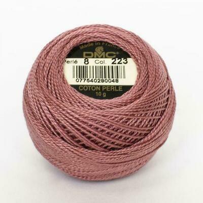 DMC116 Perle 12 Ball 0223 - Light Shell Pink