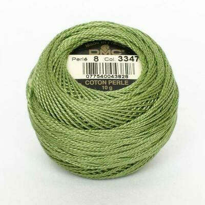 DMC116 Perle 05 Ball 3347 - Medium Yellow Green