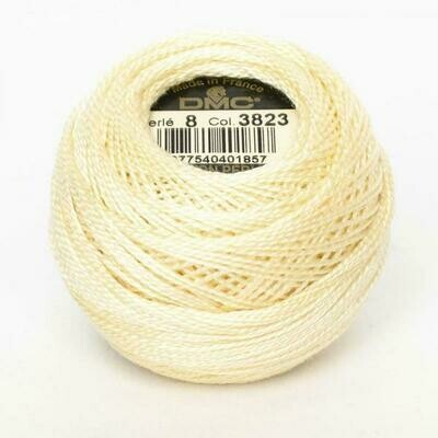DMC116 Perle 05 Ball 3823 - Ultra Pale Yellow
