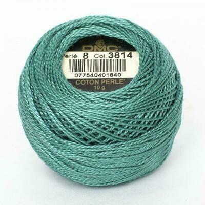 DMC116 Perle 08 Ball 3814 - Aquamarine
