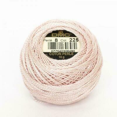 DMC116 Perle 12 Ball 0225 - Ultra Very Light Shell Pink
