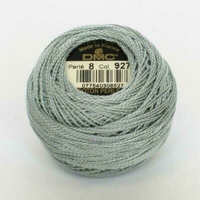 DMC116 Perle 12 Ball 0927 - Light Grey Green