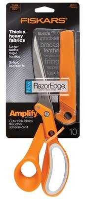 Fiskars Amplify RazorEdge Fabric Shears 25cm/10