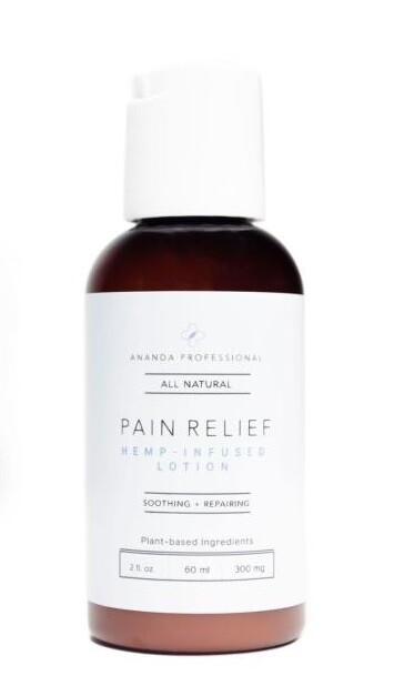 Ananda Pain-Relief Hemp-Infused Lotion