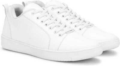 Casuals, Canvas, Partywear Sneakers For Men  (White)