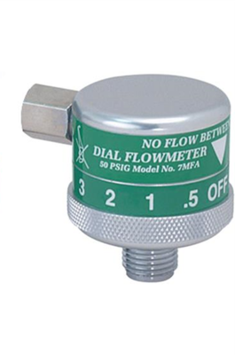 Oxygen Therapy Dial Flowmeters