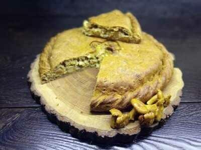 Пирог с маслятами