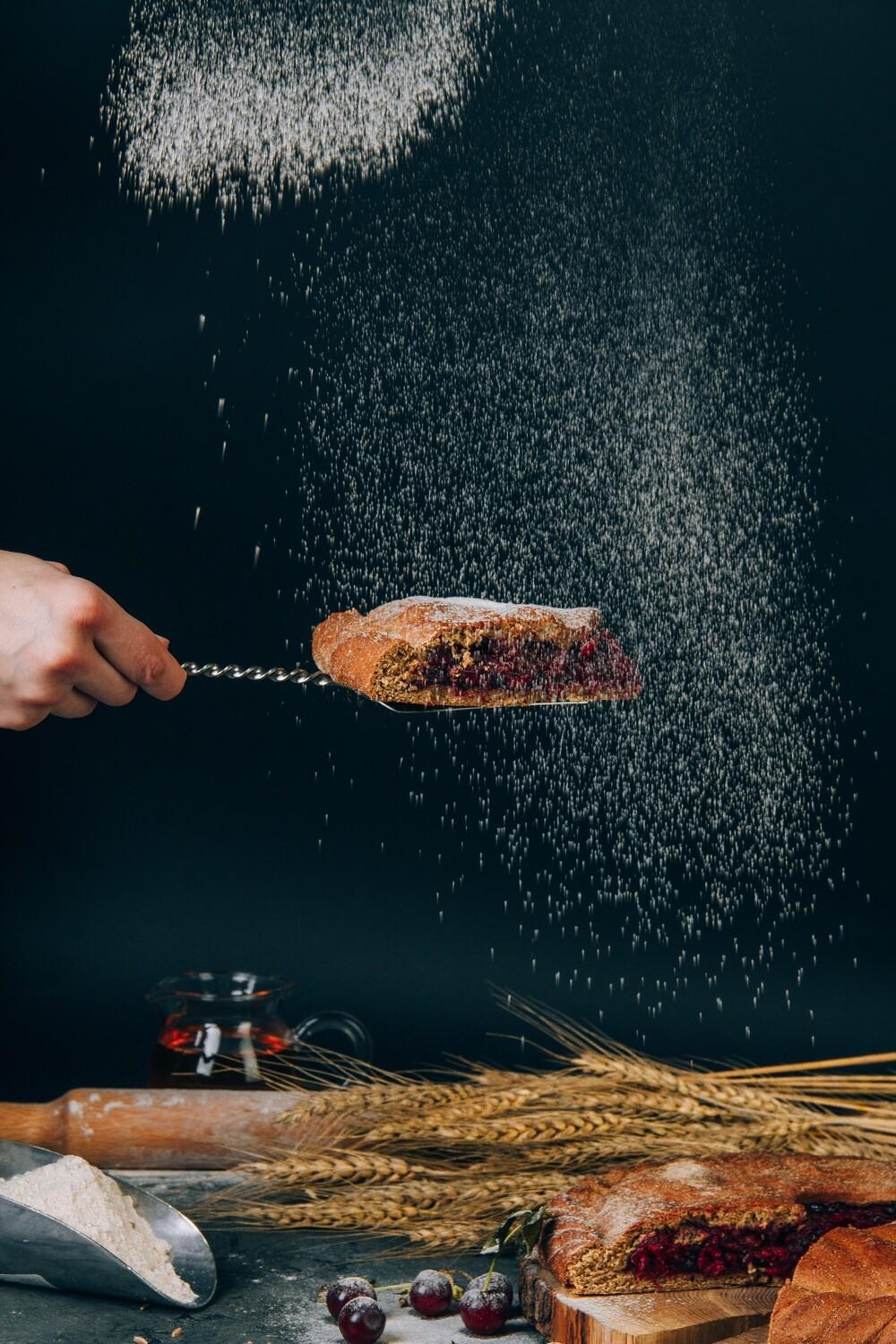 Порция пирога с Таганки