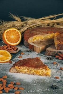 Пирог апельсин и миндаль