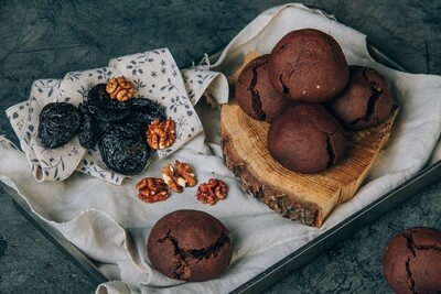 Пряники с черносливом и грецкими орехами